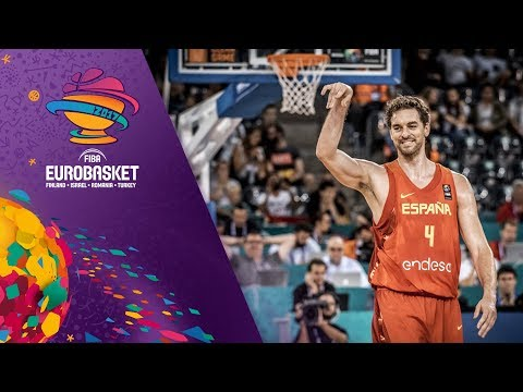 Pau Gasol makes history becoming the all-time leading scorer in EuroBasket history!