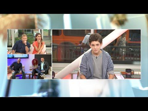 EXCLUSIVE: David Mazouz Reveals His Batman Voice on HTL