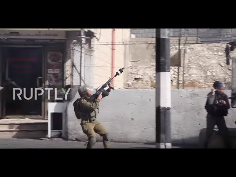 State Of Palestine: Israeli Forces Unleash Teargas In Balfour Declaration Protest