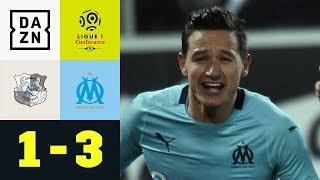 Hattrick! Florian Thauvin schießt Amiens SC ab: Amiens - Marseille 1:3 | Highlights | Ligue 1 | DAZN