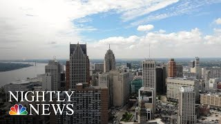 How Detroit Went From A Booming Metropolis To A Shrinking City | NBC Nightly News