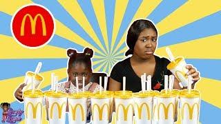 Don't Chose The Wrong McDonals Milkshake Slime Challenge!!