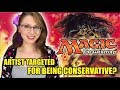 """Magic the Gathering Artist Targeted for """"Conservative Views"""" 