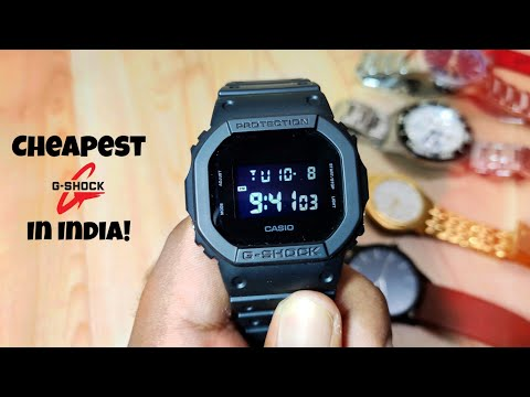Best Budget G-SHOCK In India! | Casio G-Shock DW-5600BB-1DR  | Unboxing And Review | Hindi