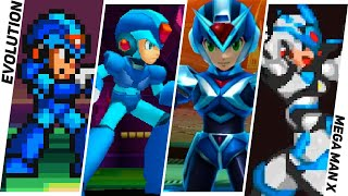 Evolution of Mega Man X Games 1993-2018