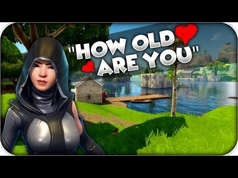 Girl Tries To Hit On Me On Fortnite! Funny Moments