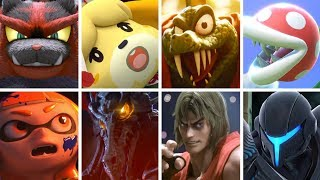 Super Smash Bros Ultimate: All Character Reveals