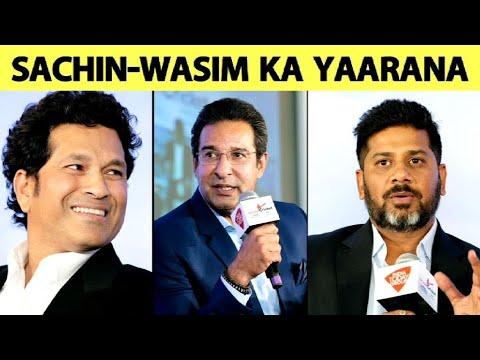 SUPER EXCLUSIVE: Sachin & Wasim Ka Yaarana, With Stories of Indo-Pak Cricket | Vikrant Gupta Mp3
