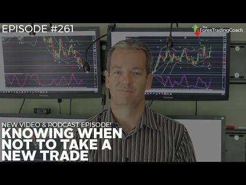 Learning how to reject a trade with Forex Coach Andrew Mitchem