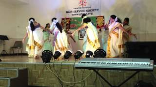 Thiruvathira 2012 Kalamandalam Sreedevi and team, Crescendo School of Music and Art