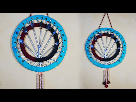 Amazing Wall Hanging Craft Idea with cardboard HandiCraft Idea with newspaper DIY Wall Hanging toran