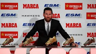 messi right foot