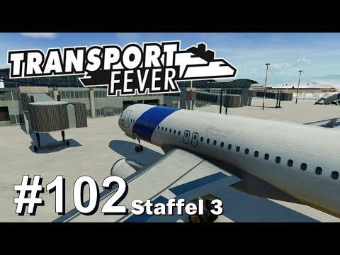 TRANSPORT FEVER S3/#102: Bau Airport München-Stuttgart [Let