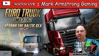 Euro Truck Simulator 2 Beyond the Blatic-Sea with Mark