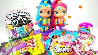 Шиммер и Шайн открывают сюрпризы и ищут игрушки для детей