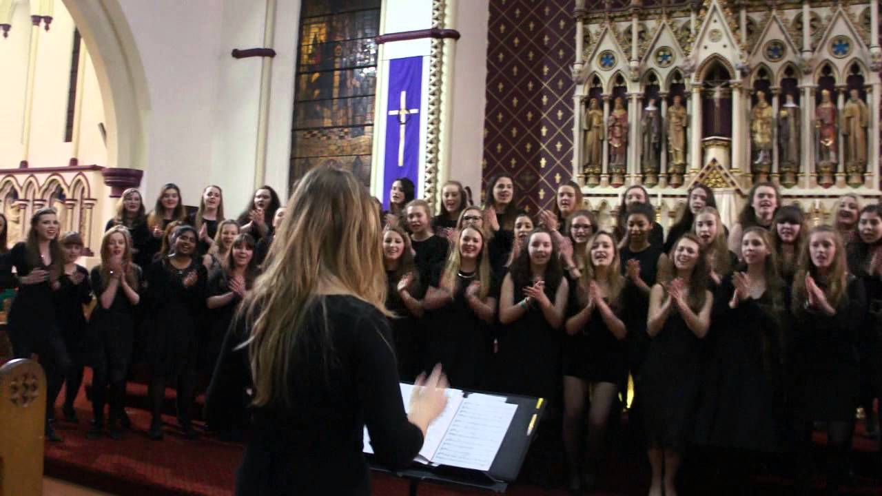 hail holy queen by senior choir stanthonys girls academy