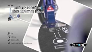 Kodėl verta rinktis Micro Flex mėlyną 200mm paspirtuką