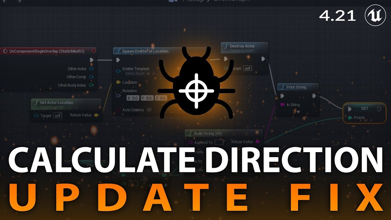 Calculate Direction Update Fix - Unreal Engine 4 21