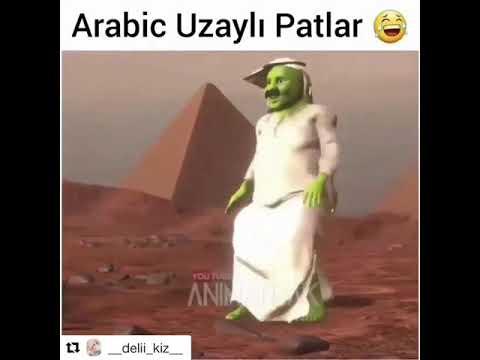 Arabic uzaylı mavi uzaylı misali