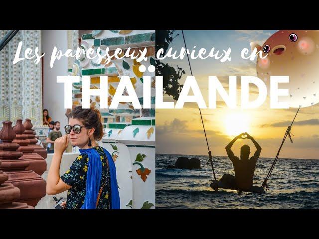 VLOG : DECOUVERTE DE LA THAÏLANDE (De Bangkok à Koh Tao)