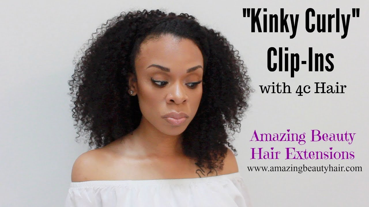 Affordable Kinky Curly Clip Ins Amazing Beauty Hair Extensions