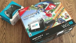 WiiU Mario Kart 8 Deluxe Set - Unboxing en Español