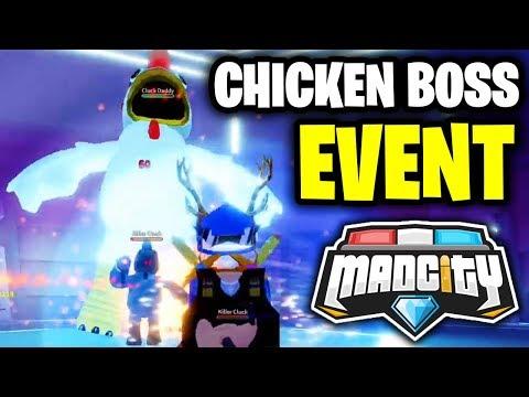 🔴 MAD CITY ALIEN INVASION CHICKEN BOSS FIGHT | 👽 Roblox Mad City New Update LIVE | KreekCraft