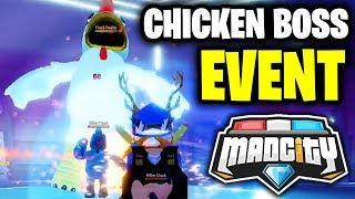 🔴 MAD CITY ALIEN INVASION CHICKEN BOSS FIGHT   👽 Roblox Mad City New Update LIVE   KreekCraft