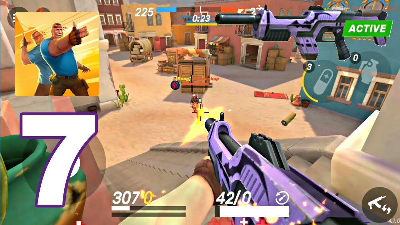 Guns Of Boom Gameplay Walkthrough Part 7 Vampire Review Gun Android Games