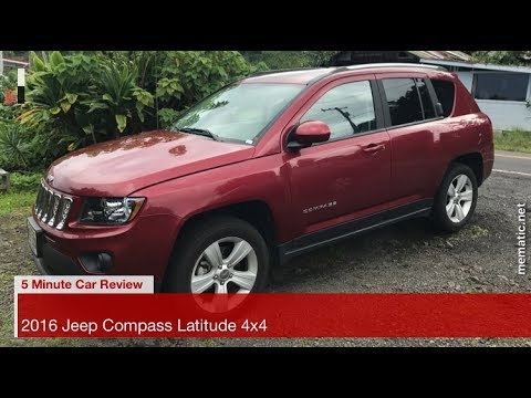 5 minute car review 2016 jeep compass latitude 4x4 youtube. Black Bedroom Furniture Sets. Home Design Ideas