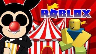 Jugando Circus Trip en ROBLOX !!
