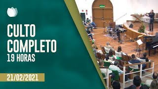 CULTO NOTURNO 19:00H | Rev. Hernandes Dias Lopes | Igreja Presbiteriana de Pinheiros | IPP TV