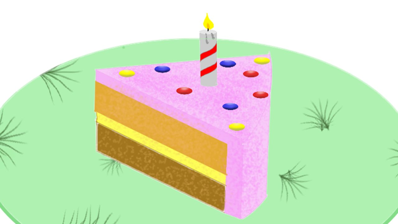 Autodesk Sketchbook Pro Tutorial - How to draw a slice of cake ... for Drawing Cake Slice  56bof