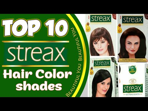 Streax Hair Colour All Shades | Top 10 Streax Hair Color Available In India With Price 2018