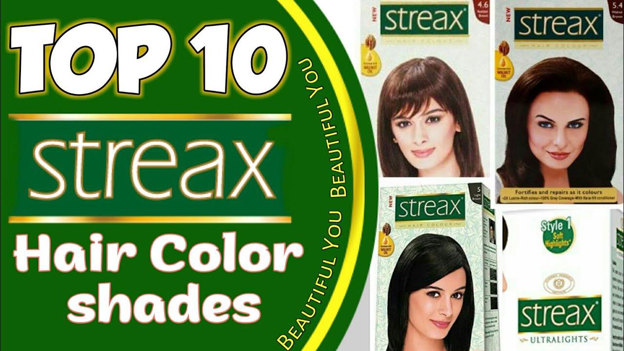 Streax Hair colour all shades   Top 10 streax hair color available ...