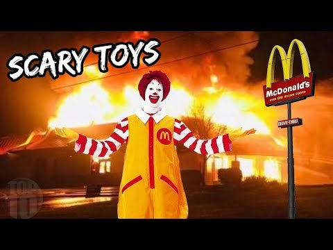 10 Scariest McDonald's Happy Meal Toys