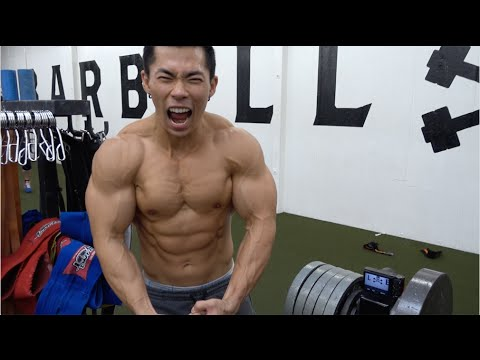 Buff asian men