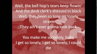 Heartbreak Hotel lyrics