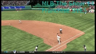 MLB the show 14 Franchise S1E5 Jason Giambi At First???