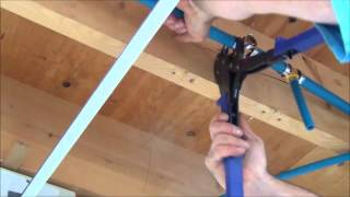 How to Install Pex Pipe Waterlines in Your Home.  Part 2. Plumbing Tips!