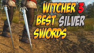 BEST WITCHER 3 SILVER SWORDS! (Relic & Crafted)