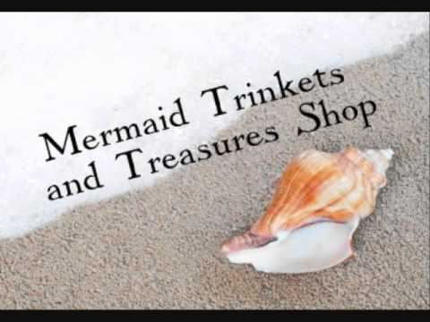 ASMR Mermaid Trinkets and Treasures Shop RP
