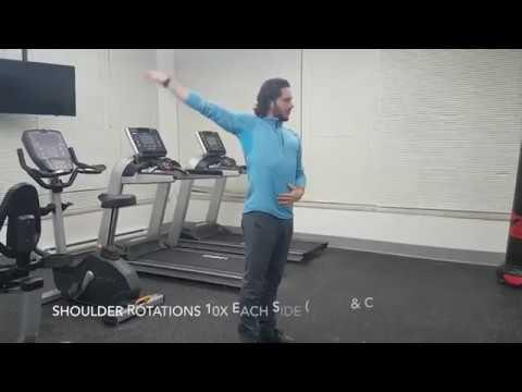 Dynamic Warm Up Routine