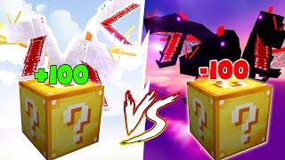 Lucky Block Crazy Craft Max Vip Vs Max Cùi Bắp ??