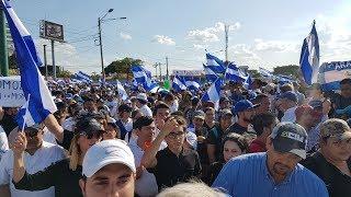 Asi se vivio la Marcha por la Paz en Nicaragua