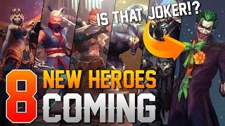 Arena of Valor News: 8 NEW HEROES COMING TO ARENA OF VALOR!!