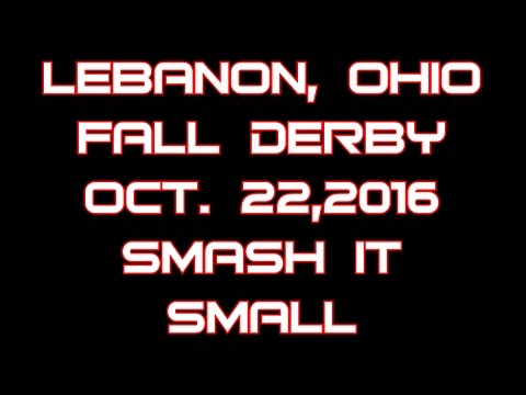 Lebanon Ohio Oct 22 2016 Smash it small