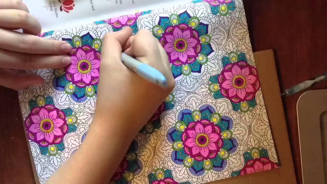Color art floral wonders - Color Art Floral Wonders 43