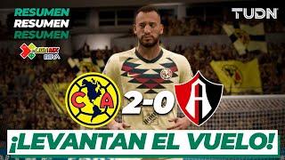 Eligamx: Partido Completo | América 2 - 0 Atlas | Clausura 2020 - Jornada 6 | Tudn