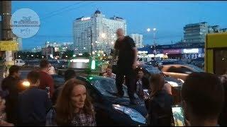 Расправа над таксистом UBER. Киев